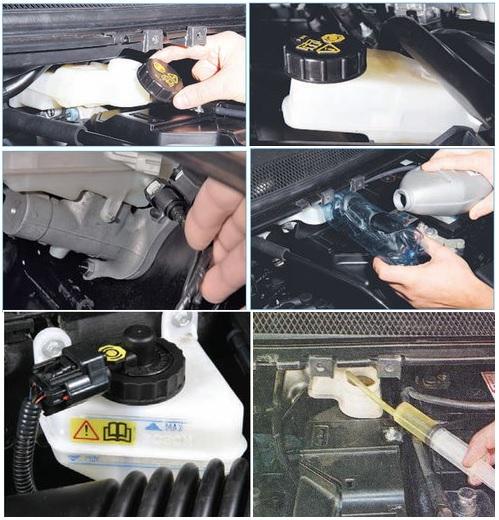 Замена жидкости в тормозной системе