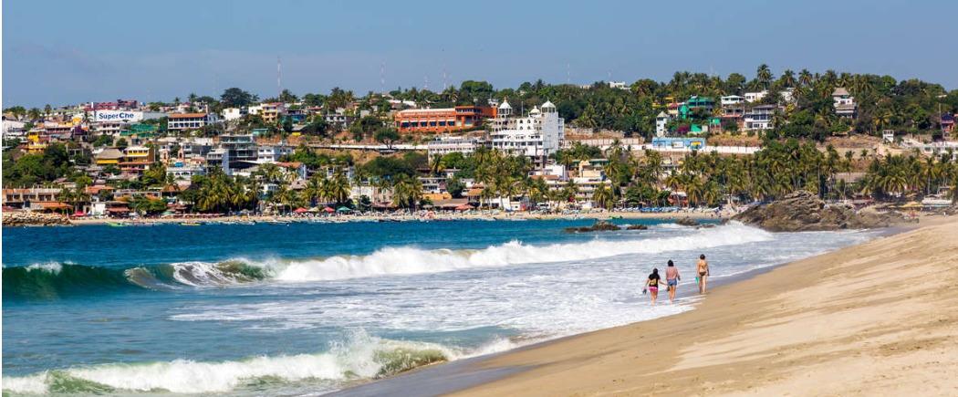 Серфинг в Мексике