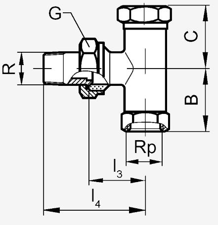 Размеры клапана Siemens AEN15
