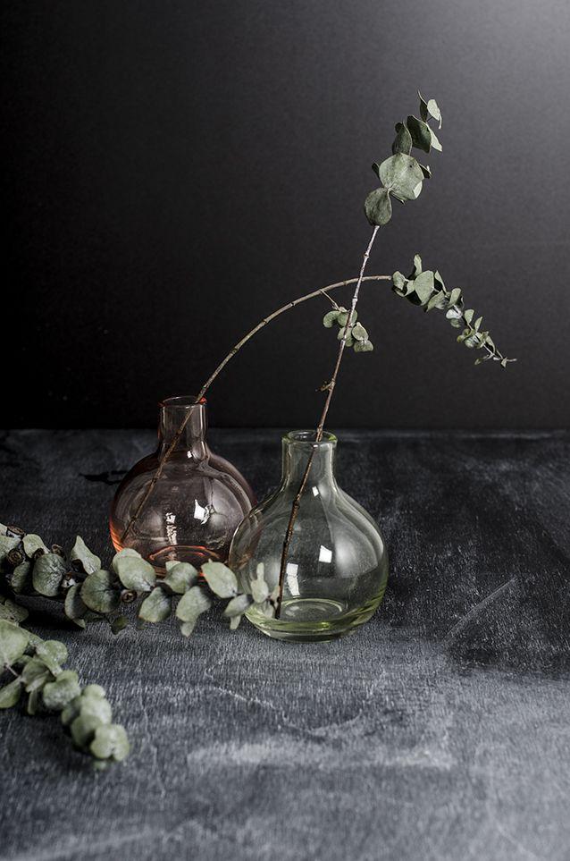 прозрачные вазы необычные
