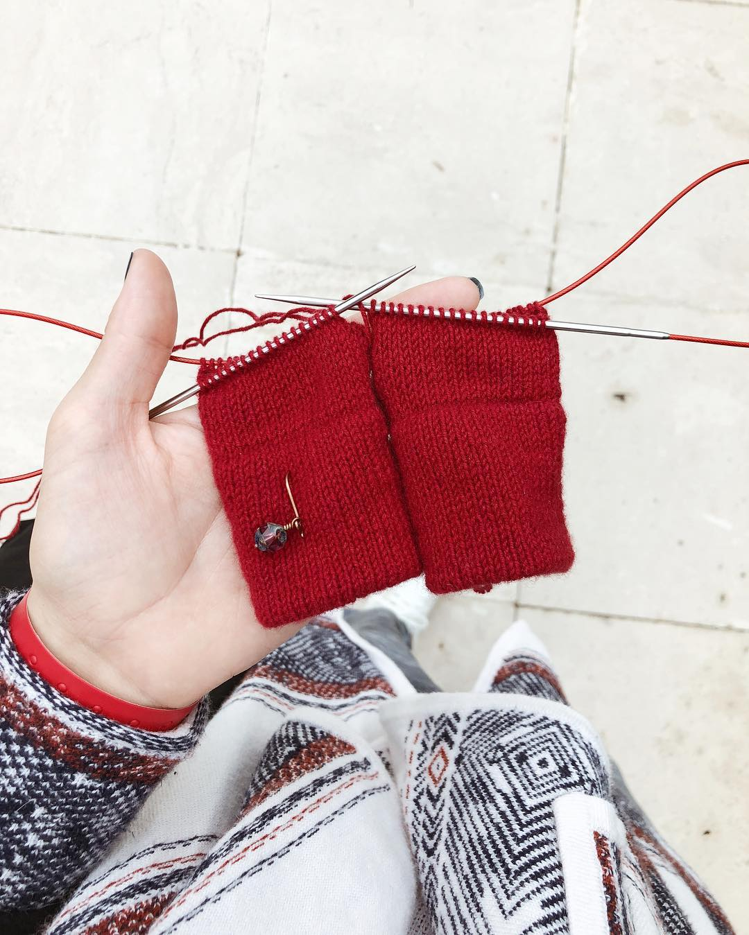 перчатки из кашемира sarlag
