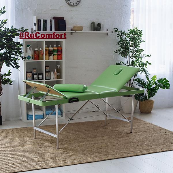 Складной массажный стол (180х60х70 см) Comfort ETALON 180 с доставкой и гарантией. Купите и получите подарок!