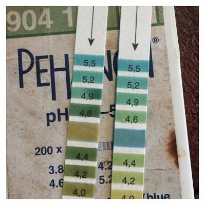 Индикаторные полоски для тестов измерения уровня кислотности