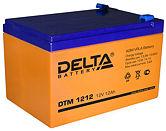 Аккумуляторные батареи Delta DTM 1212