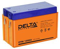 Аккумуляторные батареи Delta DTM 12022