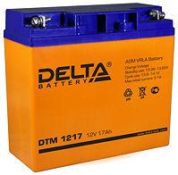 Аккумуляторные батареи Delta DTM 1217
