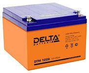 Аккумуляторные батареи Delta DTM 1226