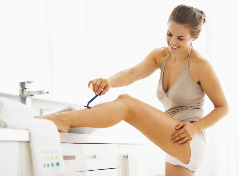 женское бритье