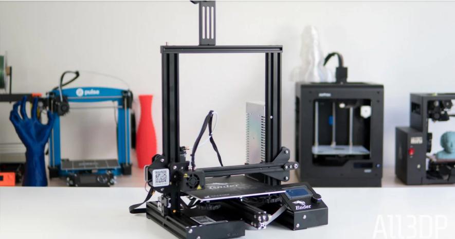Creality Ender 3 Pro является лучшим выбором среди бюджетных 3D-принтеров.