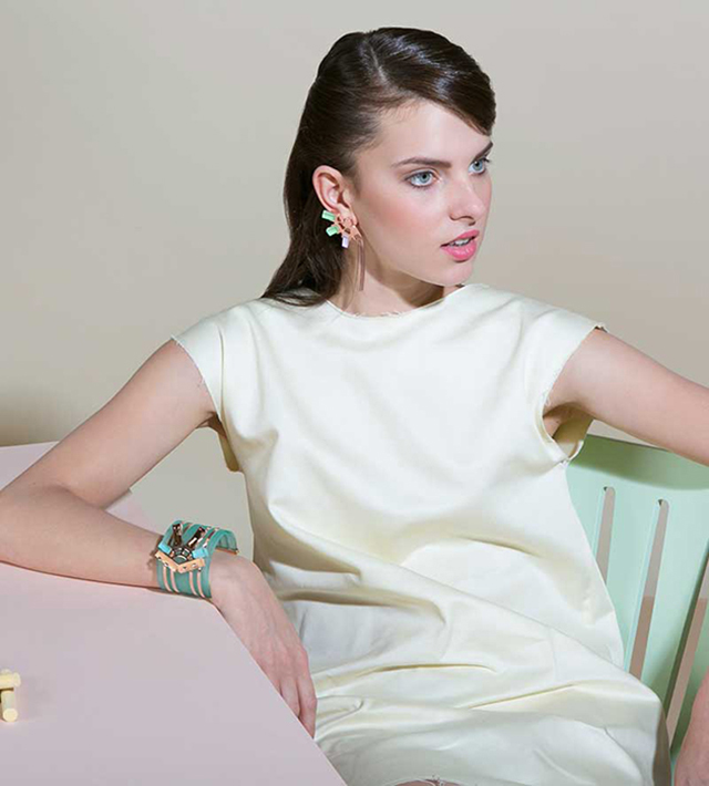 Браслет-манжет Turquoise от Giuliana Mancinelli в интернет-магазине Modbrand.ru