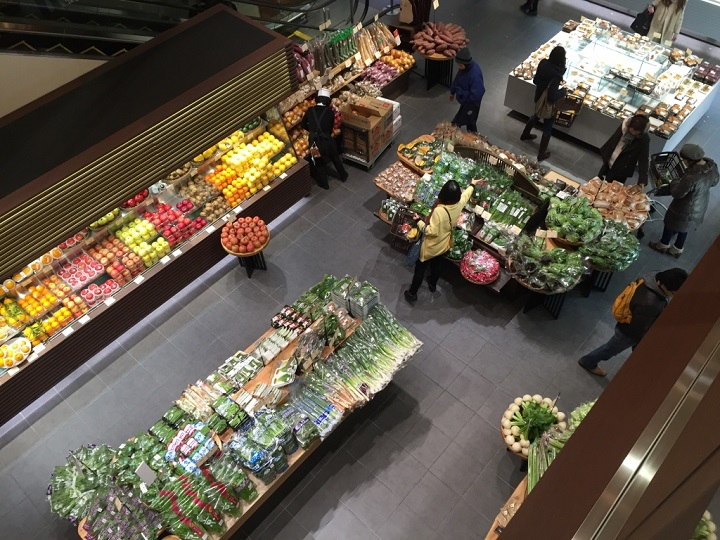 удобный продуктовый магазин
