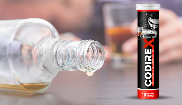 Шипучие таблетки CODIREX от алкоголизма оптом