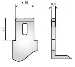 Аккумуляторные батареи Delta DTM – клеммы «Нож F2»