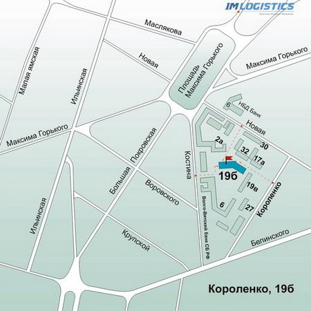 Пункт выдачи заказов в г. Нижнем Новгороде на ул. Короленко