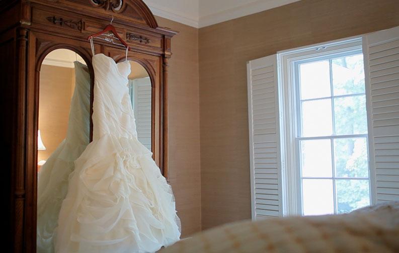 как хранить свадебное платье до свадьбы
