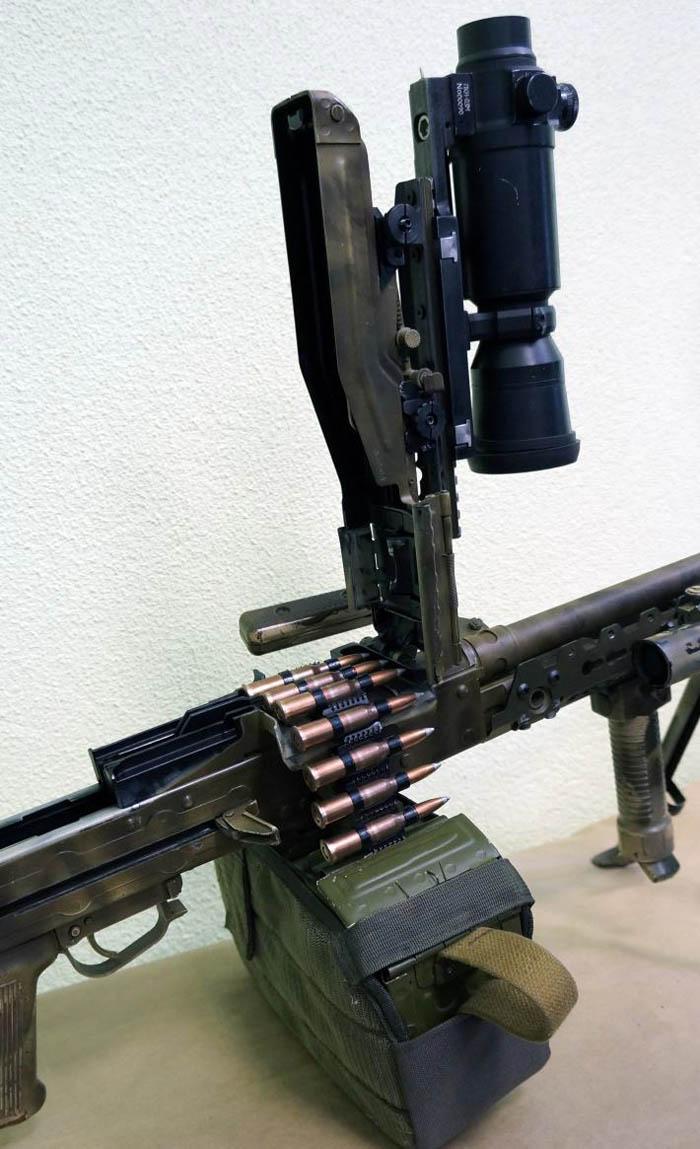 """Планка """"Терминатор"""" для крышки ствольной коробки пулемёта Калашникова Guns Gadget"""
