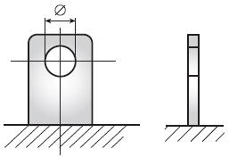 Аккумуляторная батарея Delta – тип клемм «Болт + гайка»
