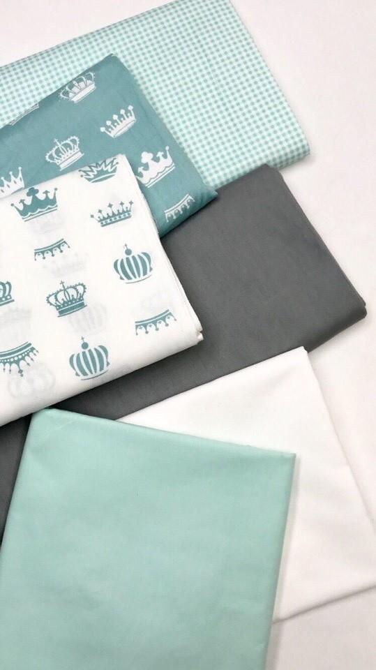 Купить ткань бирюзового цвета