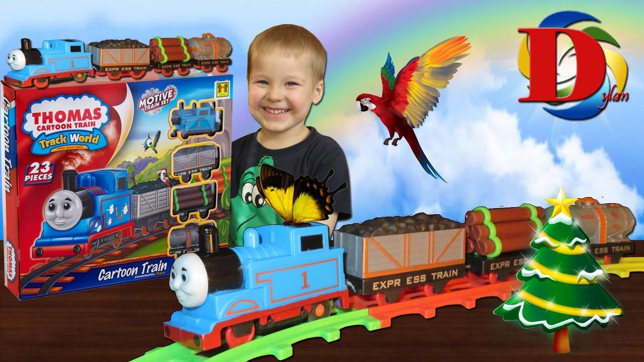 Железная дорога Thomas Cartoon Train оптом