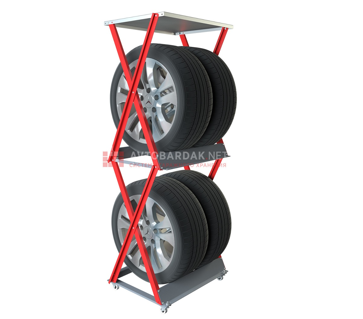 Вертикальная_стойка_для_хранения_колес_с_дисками