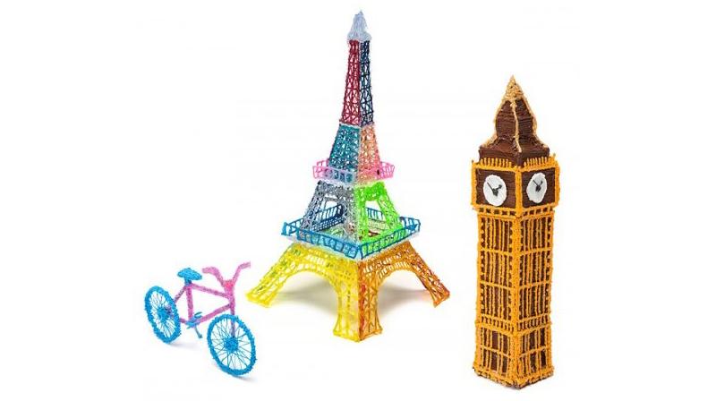 Примеры рисунков 3D ручки