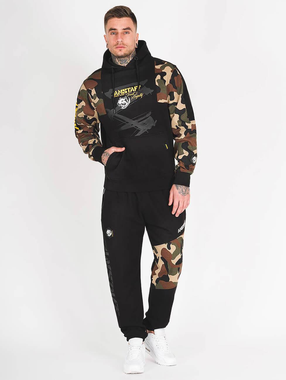 Камуфляжный спортивный костюм мужской серии одежды Amstaff Husar