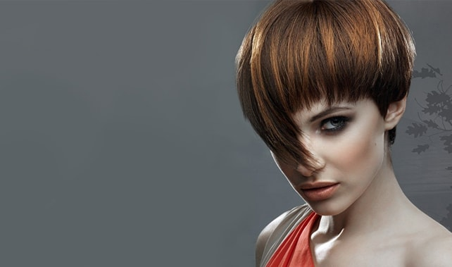 Правила мелирования темных волос