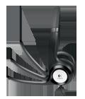 Микрофон на поворотном держателе