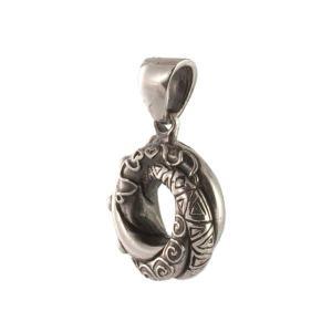 Фото алжирского узла любви в серебре