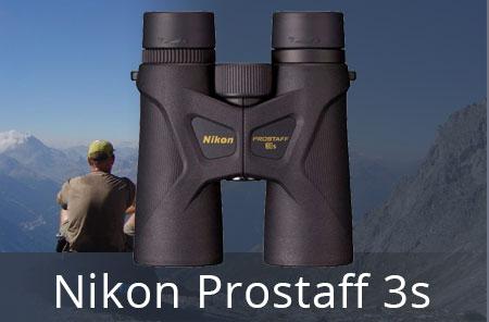 Компактные бинокли Prostaff 3s для наблюдений за природой