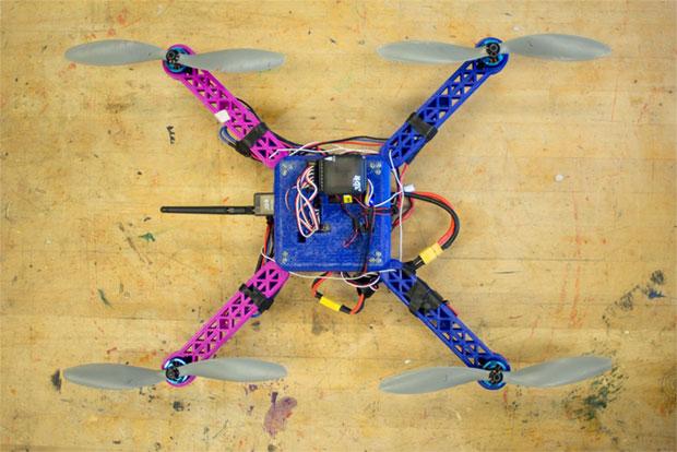 модель дрона для печати на 3D принтере