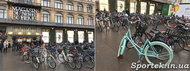 Городские велосипеды в Дании