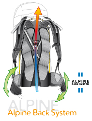 Deuter Alpine Back System