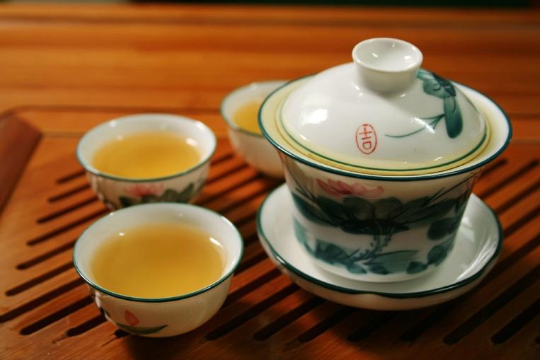настой зеленого чая