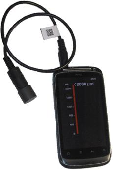 АвтоЛакТест АЛТ-1 - толщиномер для мобильных устройств