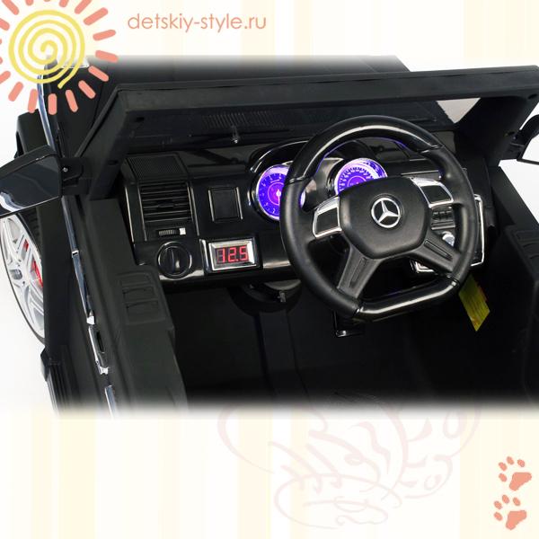 электромобиль river toys mercedes benz g65, купить, цена, лицензия, детский мерседес бенц g65, кожаное сидение, заказ, заказать, видео, отзывы, видео обзор, гелендваген, стоимость, доставка по россии, бесплатная доставка, официальный дилер