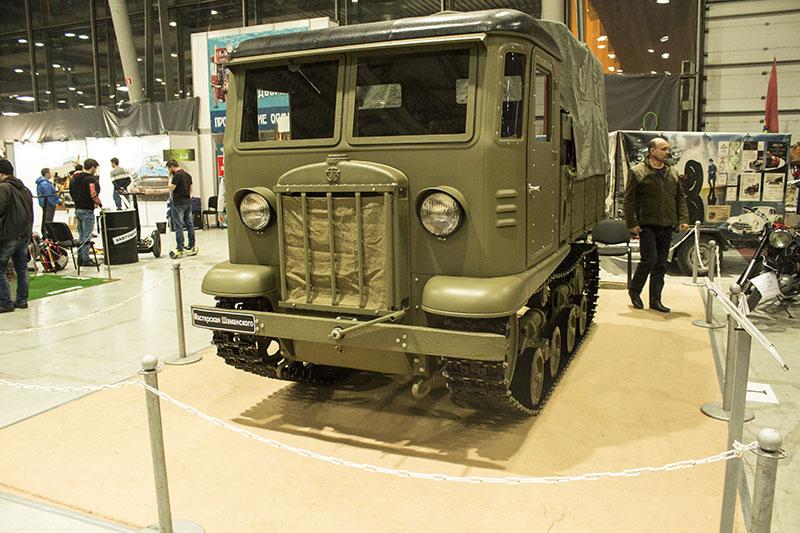 Сталинец СТЗ-5 на выставке старинных автомобилей Олдтаймер галерея 2017