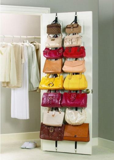 как хранить сумки компактно