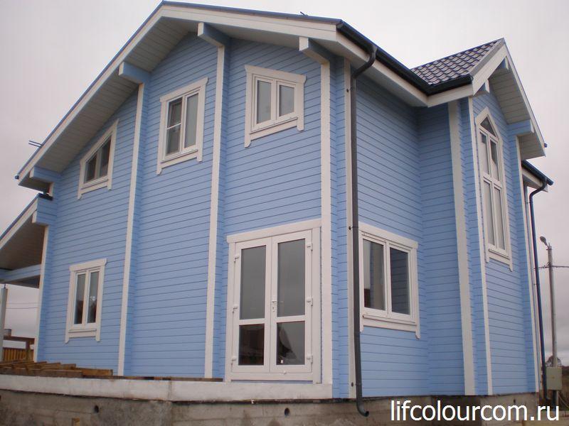 Профессиональная покраска деревянных домов