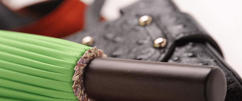 Дизайнерский зонт 24 спицы бежевый | ZC Easily