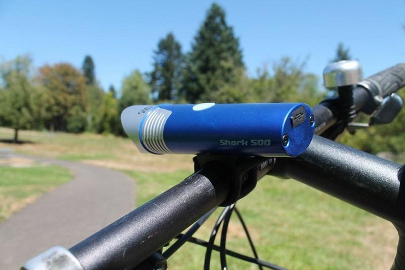 Велосипедный фонарь Cycle Torch Shark