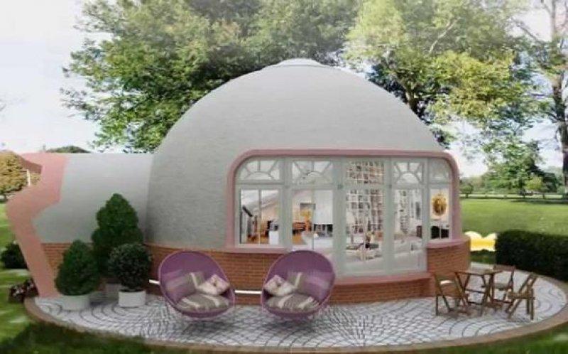 пенопластовый домик