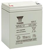 Аккумуляторы для источника бесперебойного питания Yuasa NPH 5-12