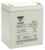 Аккумуляторы для источника бесперебойного питания Yuasa NPH 5-12FR