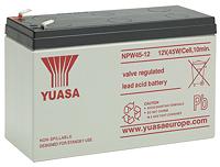 Аккумуляторы для источника бесперебойного питания Yuasa NPW 45-12
