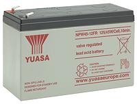 Аккумуляторы для источника бесперебойного питания Yuasa NPW 45-12FR