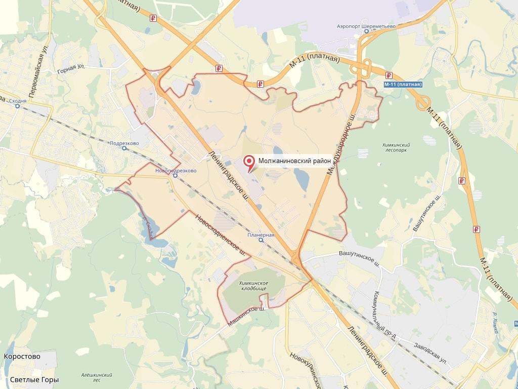 Торты на заказ Молжаниновский район
