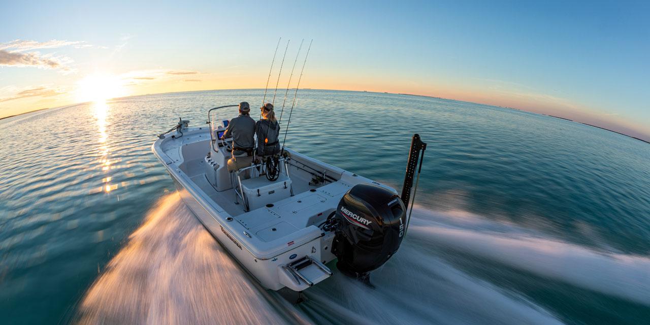 Лодка с мотором Mercury