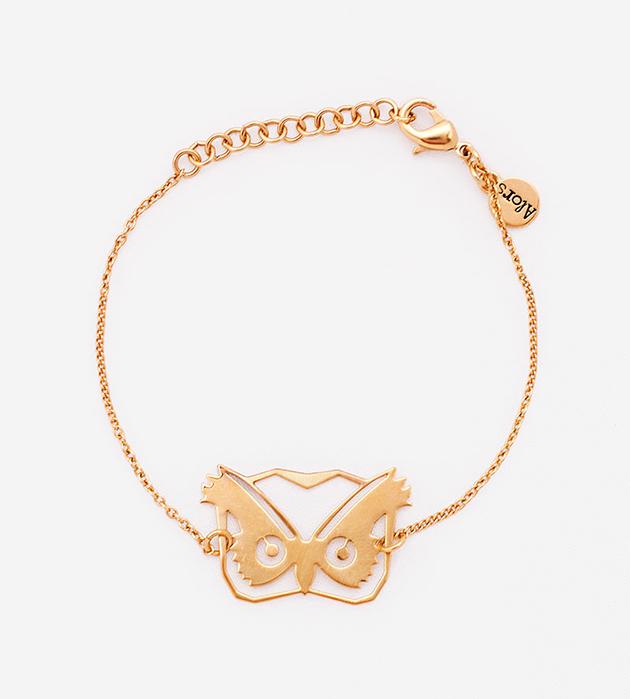 изящный золотой браслет Hibou от Chic Alors-Paris