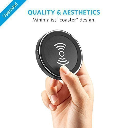 Беспроводное зарядное устройство Anker Wireless Charger PowerPort Qi Slim Wireless Charging Pad 2nd Edition
